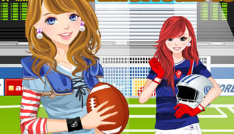 American Football Dress Up